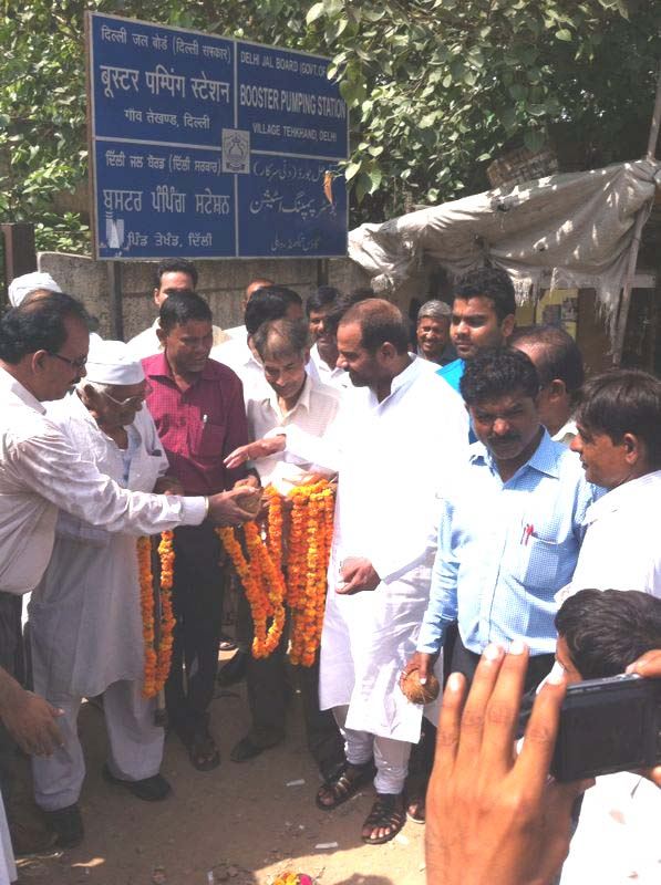 29.July.15 || Inauguration of Water Line of Tughlakabad