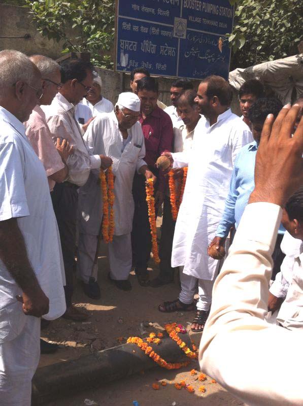 14.07.2014 || UGR Tughlakabad, Sangam Vihar, Deoli