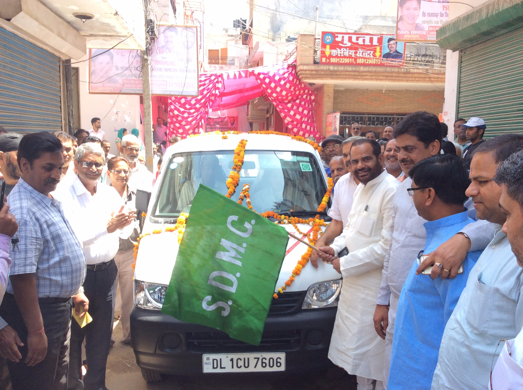 14.04.2016 Inauguration 3 Mobile Dispensary in South Delhi