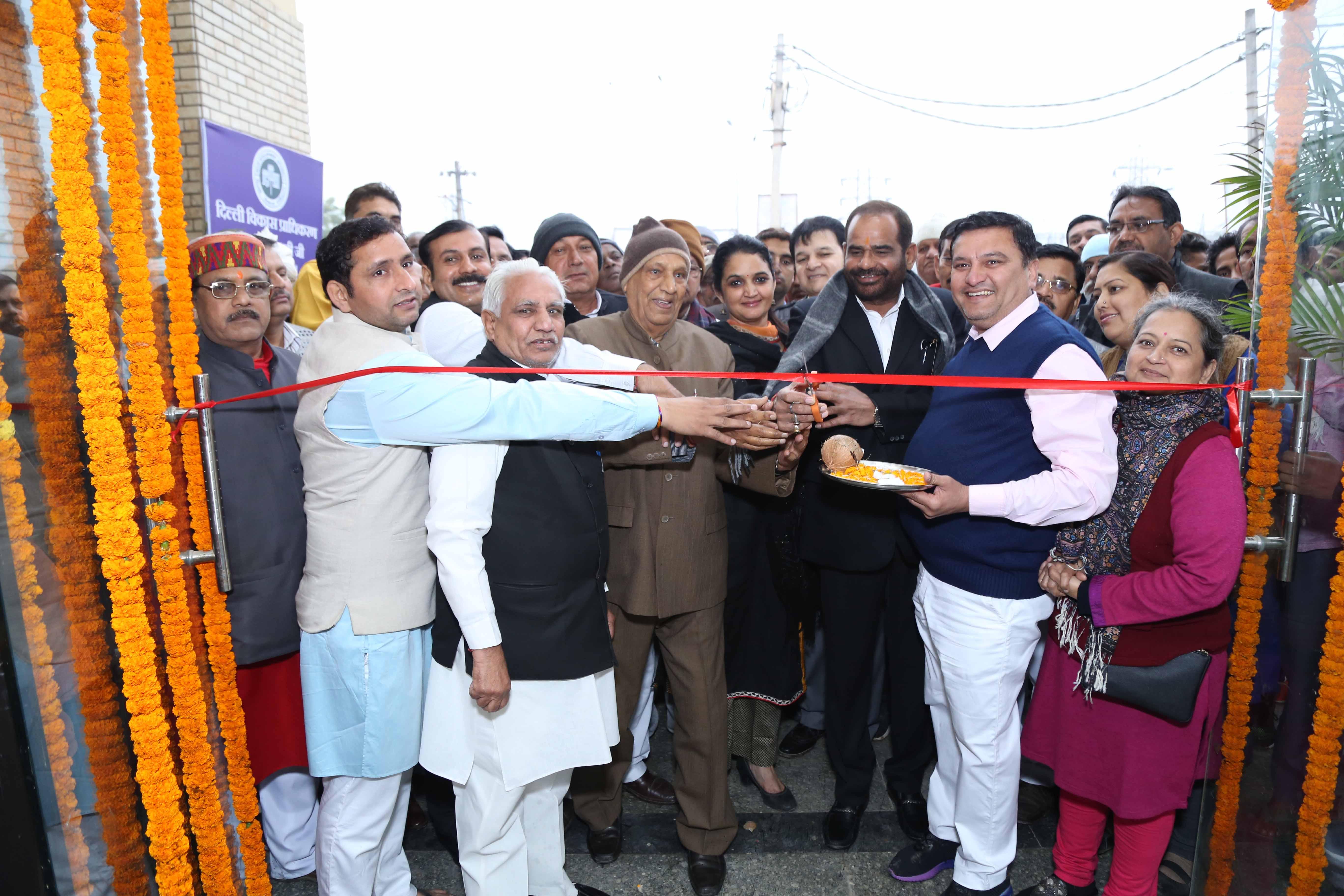 10/2/17 Inauguration Of Community Center In Village Kishangarh