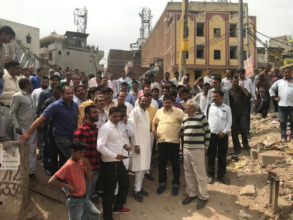 15.03.2018 PRESS RELEASE Visit Harkesh Nagar